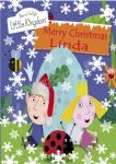 Personalised Ben & Holly Christmas Card